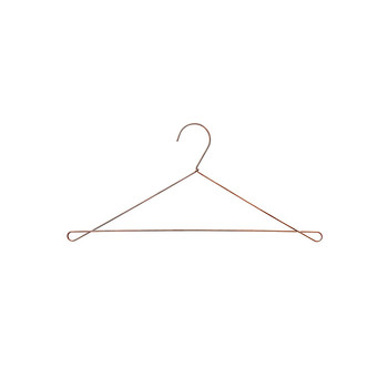 Bow Hanger - Set of 5 - Copper