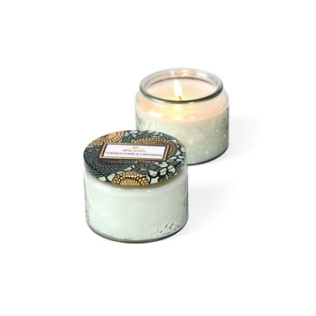 Japonica Limited Edition Glass Candle - French Cade & Lavender