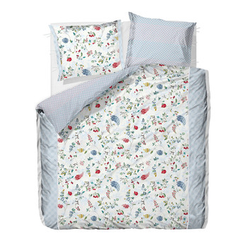 Hummingbirds Star White Duvet Cover