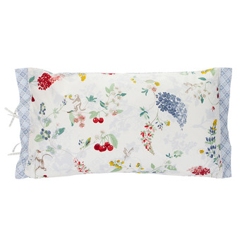Hummingbirds Star White Bed Cushion