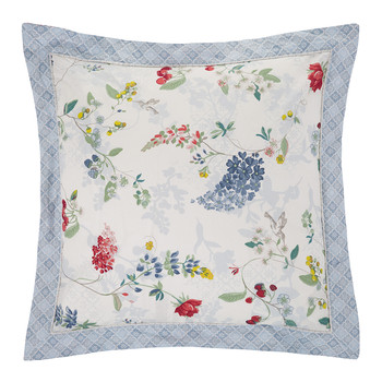 Hummingbirds Star White Bed Pillow