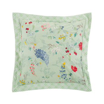 Hummingbirds Light Green Bed Pillow