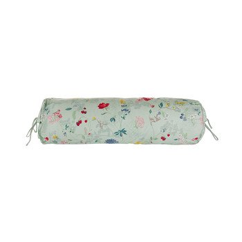 Hummingbirds Light Green Bed Bolster Pillow