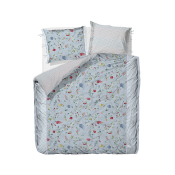Hummingbirds Blue Duvet Cover