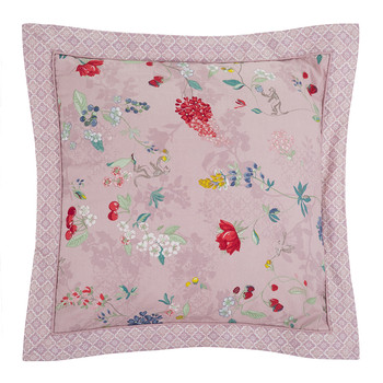Hummingbirds Lilac Bed Pillow
