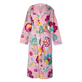 Floral Fantasy Pink Bathrobe