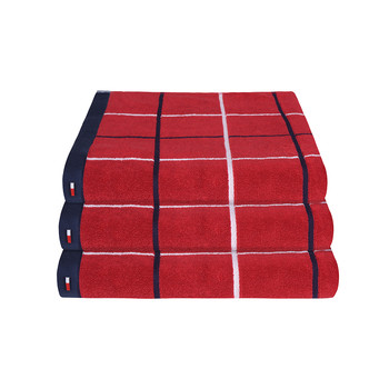 Red Checks Towel