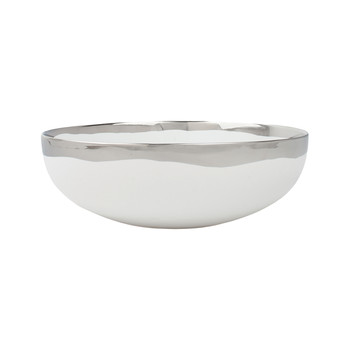 Dauville Serving Bowl - Platinum