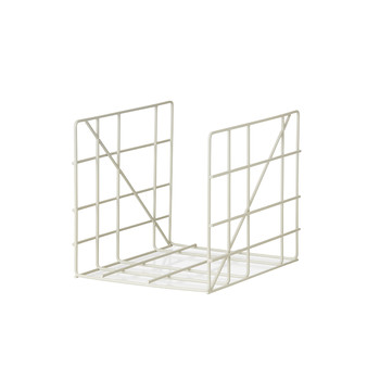 Square Magazine Holder - Gray
