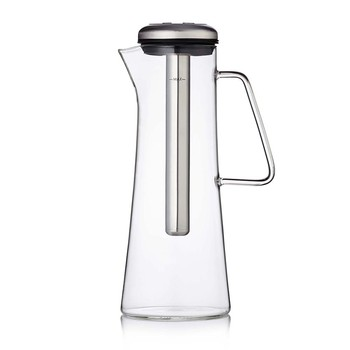 Ice Bar Coffee Pitcher - Electric Steel