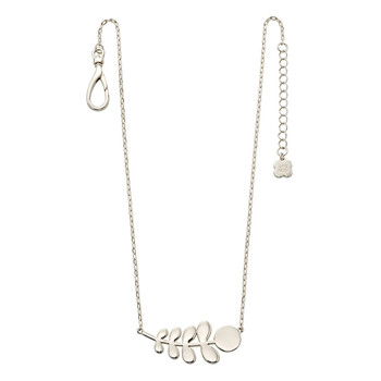 Buddy Stem Necklace  - Sterling Silver