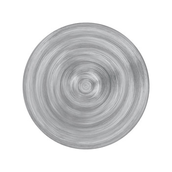 Neo Barocco Soup Plate - Grey