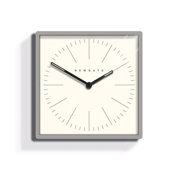Large Mr Robinson Clock - Grey