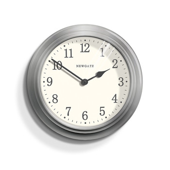 The Large Nantucket Clock - Brushed Steel