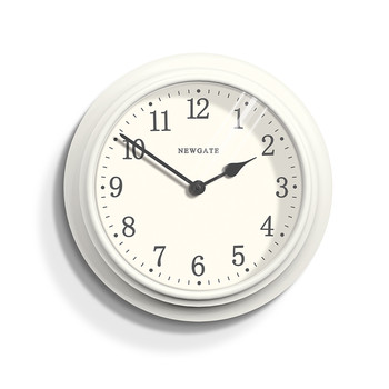 The Large Nantucket Clock - Linen White