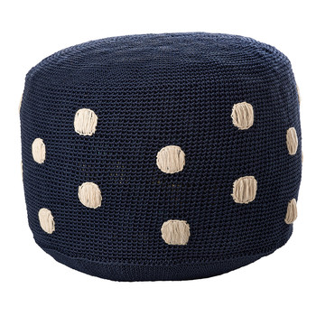 Dots Pouf - Navy