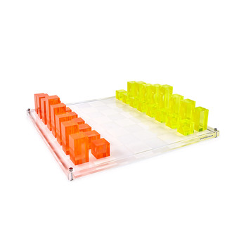 Neon Chess Set