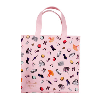 Pink Small Accessories Shopping Bag