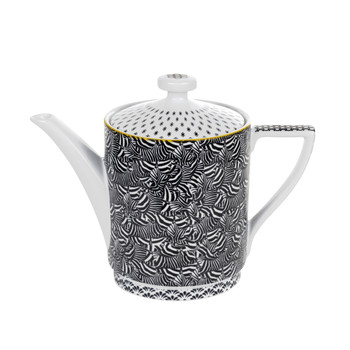 Langdon Black Teapot