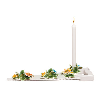 Flower Attitude Candle Holder - The Saw