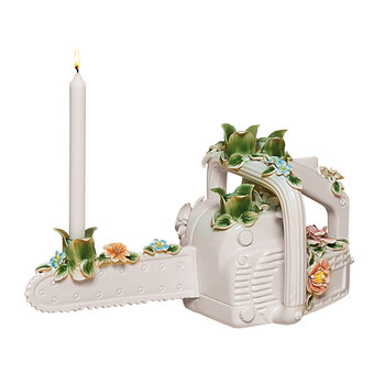 Flower Attitude Candle Holder - The Chainsaw