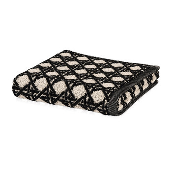 Vienna Mesh Towel - Black