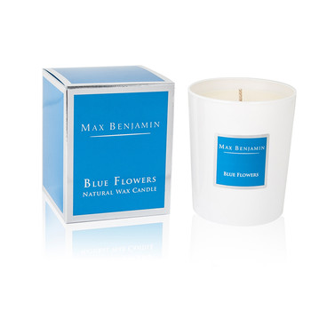 Scented Candle - 190g - Blue Flowers