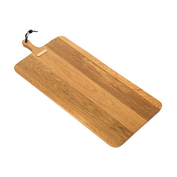 XL Rectangular Solid Wood Bread Board - Oak
