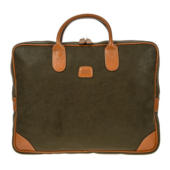 Life Laptop Briefcase - Olive