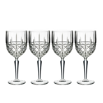 Marquis Brady White Wine Glasses - Set of 4