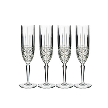Marquis Brady Champagne Flutes - Set of 4