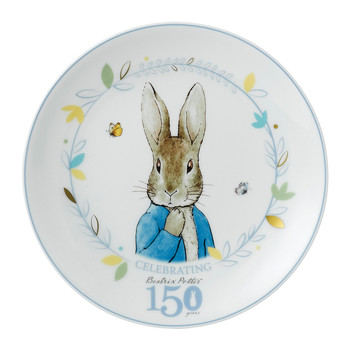 Peter Rabbit 150 Years Plate