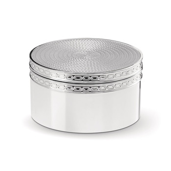 With Love Silver Treasure Box