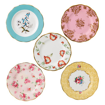 100 Years Plate Set - 5 Piece - 1950-1990