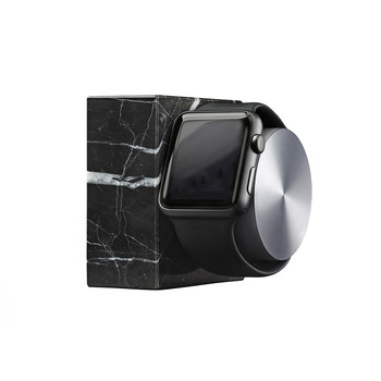 Apple Watch Marble Charging Dock - Black