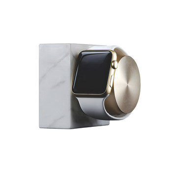 Apple Watch Marble Charging Dock - White