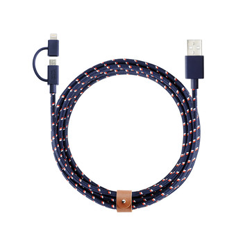 Twin Head Lightning Cable - Nautical