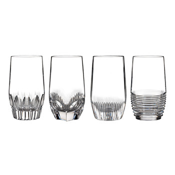 Mixology Highball Glasses - Set of 4