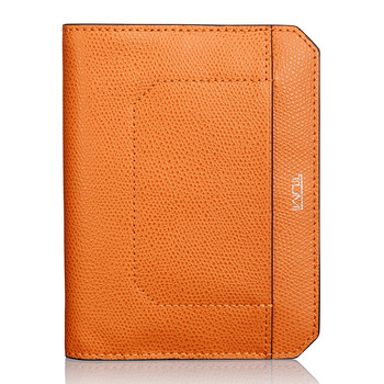 Camden Passport Cover - Burnt Orange