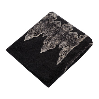 Tiziano Mohair Throw - Black