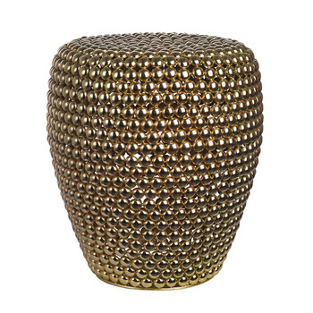 Dot Stool - Brass