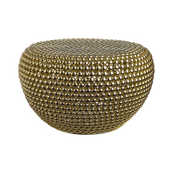 Low Dot Stool - Brass