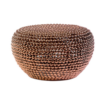 Low Dot Stool - Copper