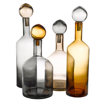 Bubbles & Bottles - Set of 4 - Neutral