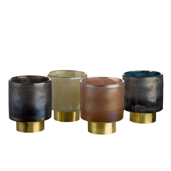 Belt Candle Holders - Set of 4