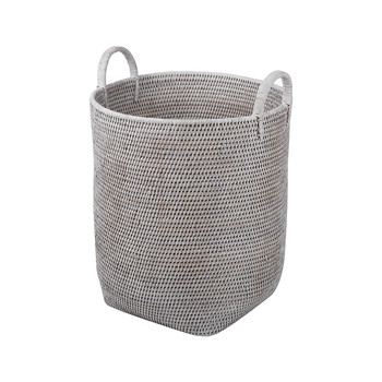 High Coco Basket - White