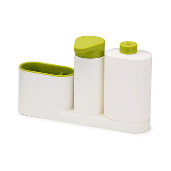 SinkBase Plus Tidy Set - White/Green