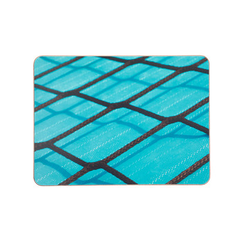 Black Rope on Blue Placemat