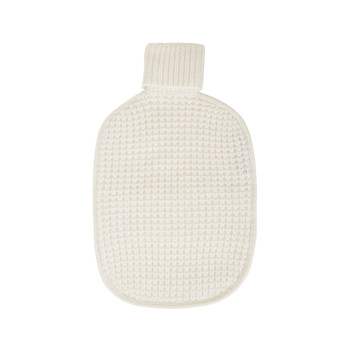 Hot Water Bottle Cover - Cream
