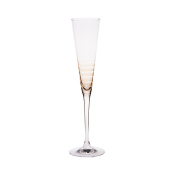 Cheers Champagne Glass - Brown